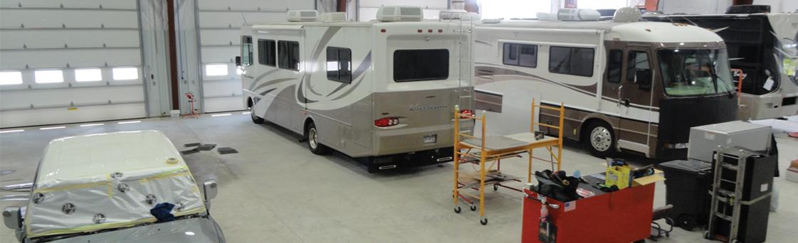 collision RV Camper repairs